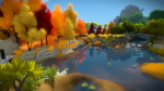 Screenshot from The Witness.